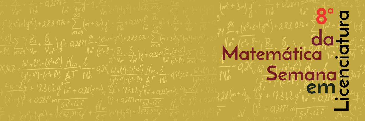 8ª Semana da Matemática