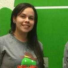 Andressa Martins. Uma das fundadoras do MNT (Mulheres na Tecnologia).